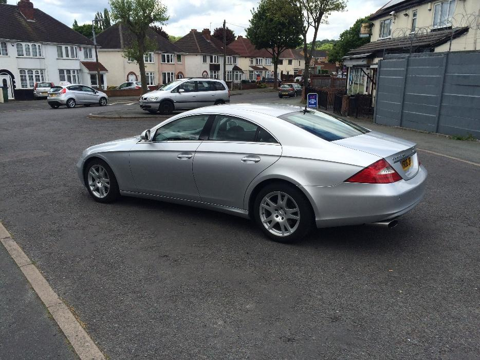 mercedes cls 320 cdi v6 7g tronic reg 2006 fully loaded tipton walsall. Black Bedroom Furniture Sets. Home Design Ideas