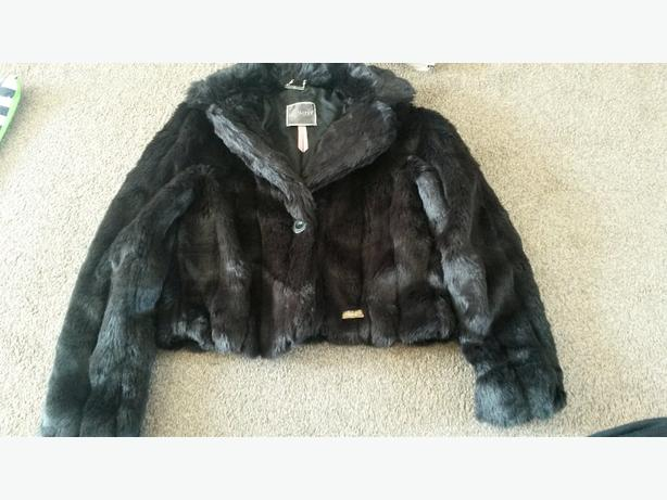 lipsy size 14 fur coat