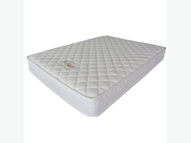 DOUBLE DIAMOND WHITE QUILTED MATTRESS