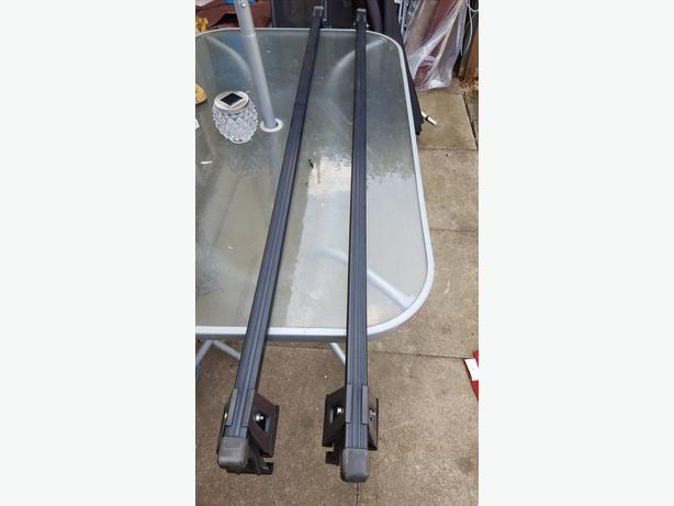 Fiat multipla roof racks (go in door lip)