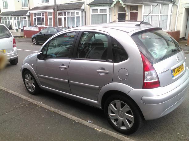 2009 Citroen C3-Silver-1.6-Good Runner 69000 miles