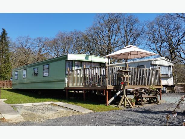 Innovative Bedroom Caravan For Hire At Clarach Bay