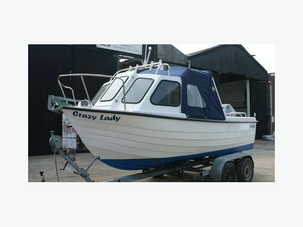 £3400 Alaska 500 fishing boat