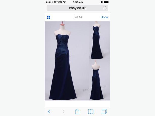 bridesmaid dress new 12
