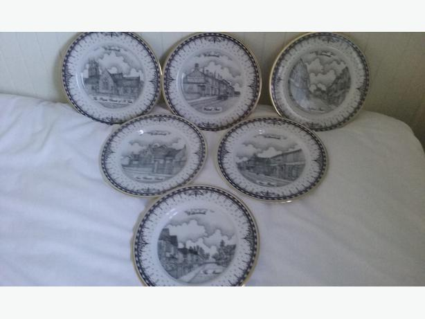 DECOR ART COLLECTION PLATES SCENES OF WILLENHALL
