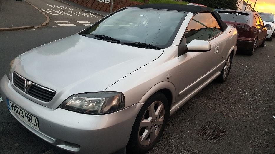vauxhall astra bertone convertible 2003 1 6 dudley. Black Bedroom Furniture Sets. Home Design Ideas
