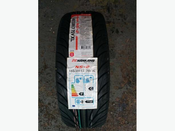 Brand new Nankang NS2 Tyres 165 35 17 75V XL
