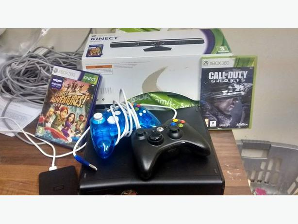xbox 360 with hdd ,kinect  SELL OR SWAP