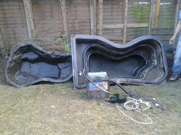 Pond linners pump filter oldbury sandwell for Pond liner for sale