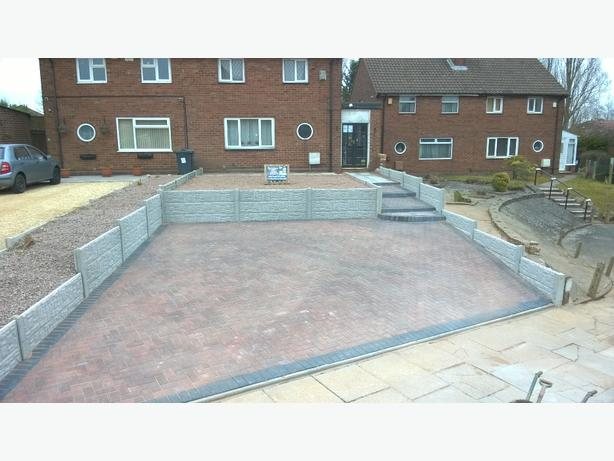 drive ways fencing gardens ect.....