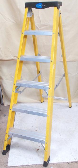 6 Tread Fibre Glass Swing Back Ladders WALSALL, Dudley