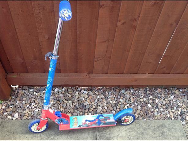 Spider man scooter