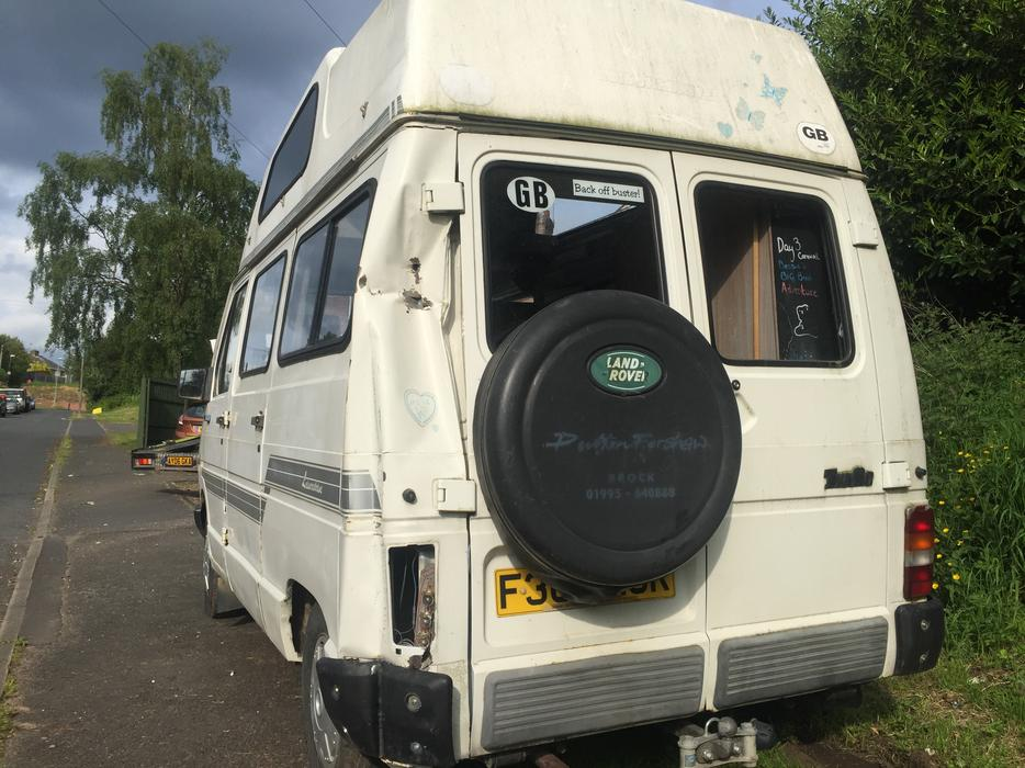Renault Traffic T1000 Camper Van Diesel 1989 Stourbridge