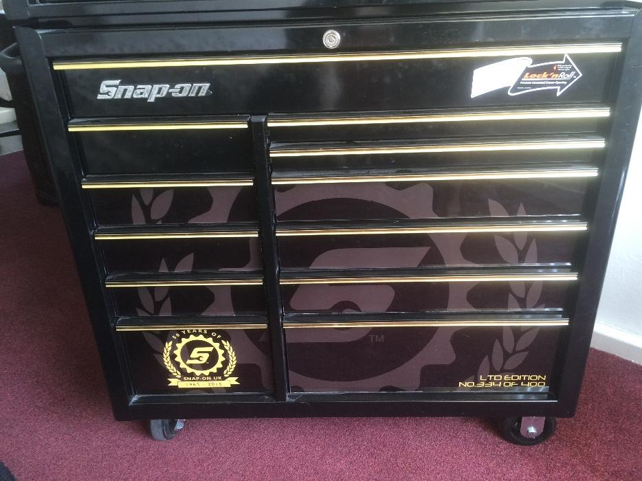 Snap on 42 50th anniversary tool box stourbridge dudley for Snap on fish tank