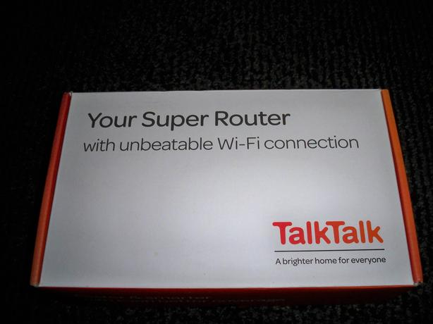 talktalk fibre router /hub...wprking fine