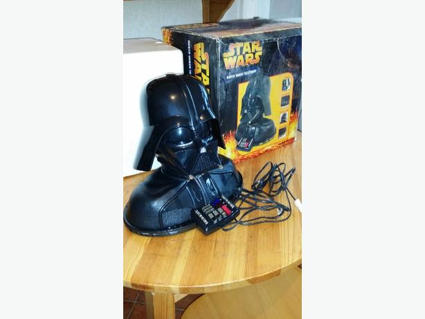 Darth Vader Collectable House Phone with motion & noises