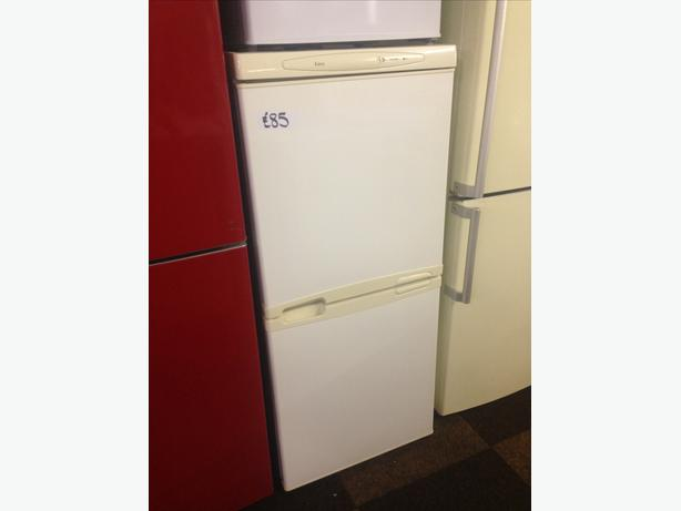 small fridge freezer very clean and tidy with guarantee. Black Bedroom Furniture Sets. Home Design Ideas