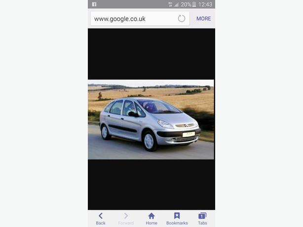 citroen xsara picasso 1 8 16v 02 reg fully loaded full mot full v5 runs nice wednesbury dudley. Black Bedroom Furniture Sets. Home Design Ideas