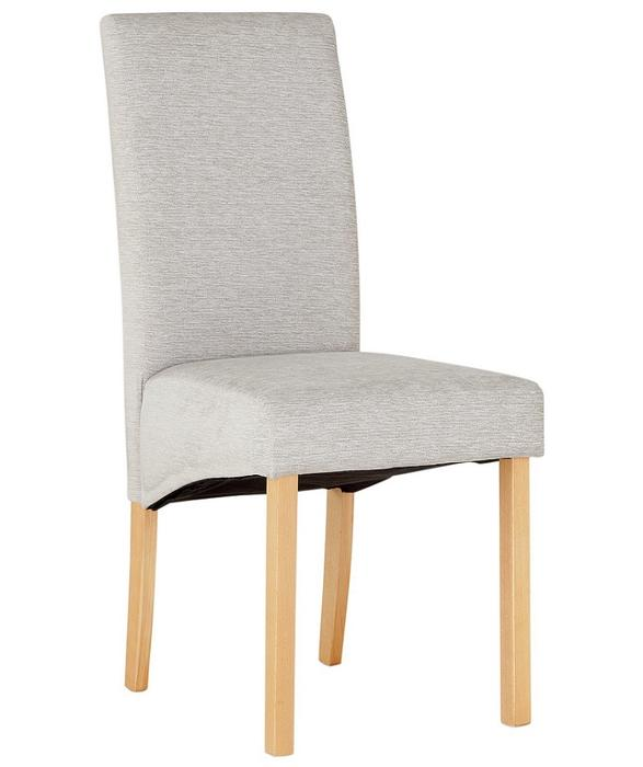 Heart of house pale grey skirted 4 dining chairs bloxwich for Dining room chairs with skirts
