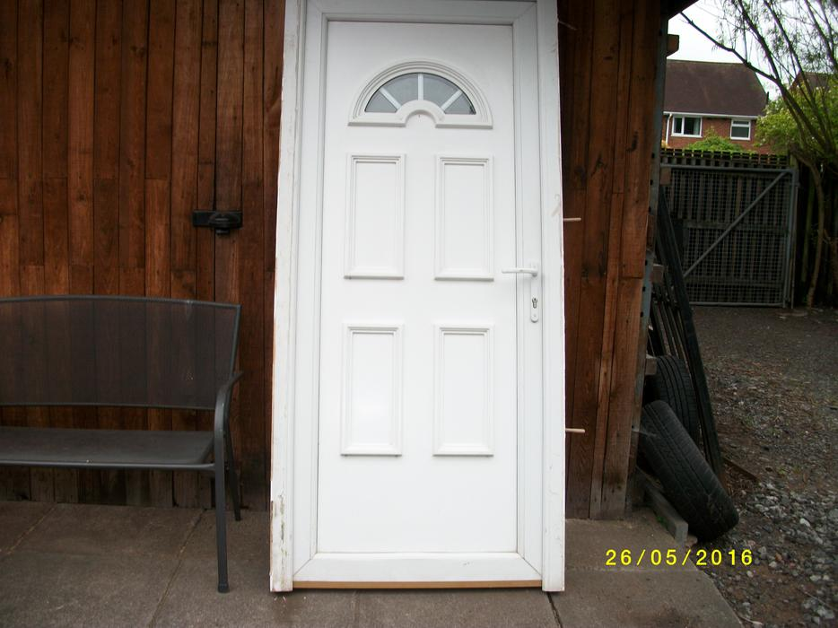 Upvc door great barr dudley for Upvc door frame