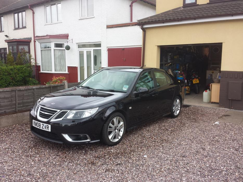 2008 saab 9 3 aero ttid 180 willenhall wolverhampton. Black Bedroom Furniture Sets. Home Design Ideas