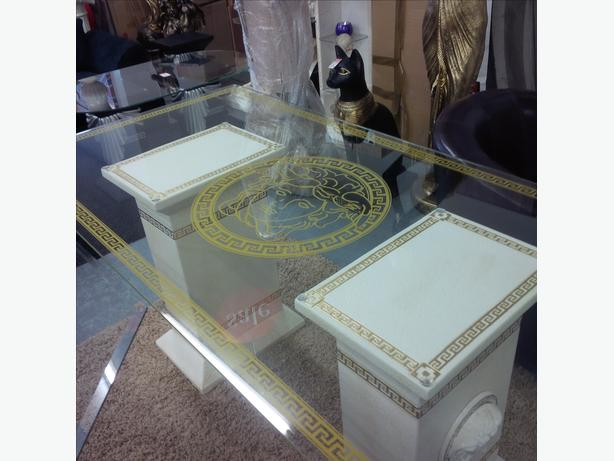 6ft versace dining table