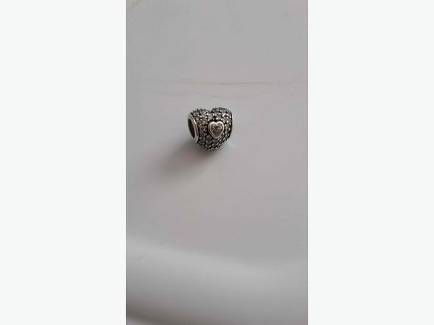 Pandora Pavé Triple Heart Charm