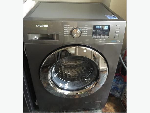 new ex display samsung 8kg wf80f5e2w4x washing machine eco bubble willenhall dudley. Black Bedroom Furniture Sets. Home Design Ideas