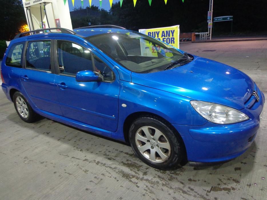 Nice N Clean 54 Reg Peugeot 307 Diesel Estate Moted And Taxed Free Delivery Other Black Country