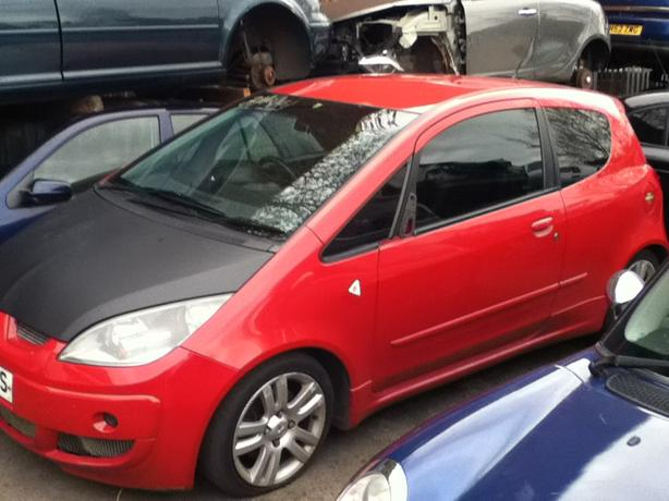 MITSUBISHI COLT 1.5 TURBO PETROL BREAKING FOR SPARES