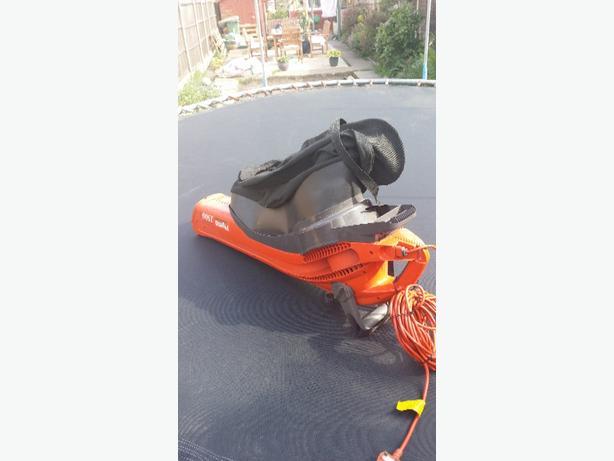 flymo leaf blower & vac