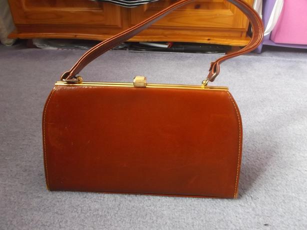 Vintage Kelly Style Handbag