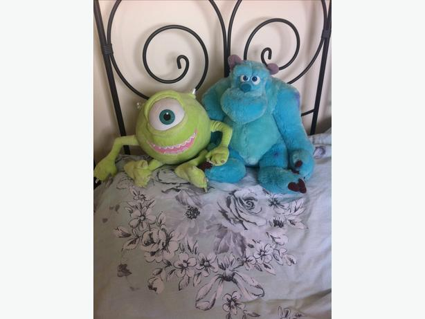 sulley & Mike teddy ( monsters inc)