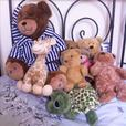 Selection of teddy bears