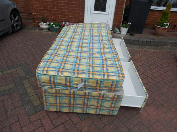 single divan bed and drawers mattress for sale dudley dudley