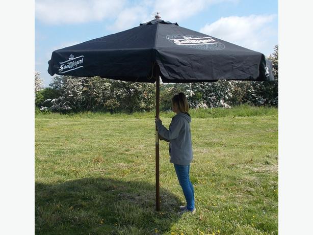 Log In needed £25 · San Miguel Umbrella/Parasol 3m
