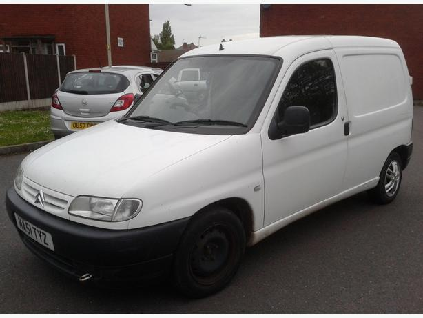 citroen berlingo 1 9 d 600 51 plate white panel van bilston dudley. Black Bedroom Furniture Sets. Home Design Ideas