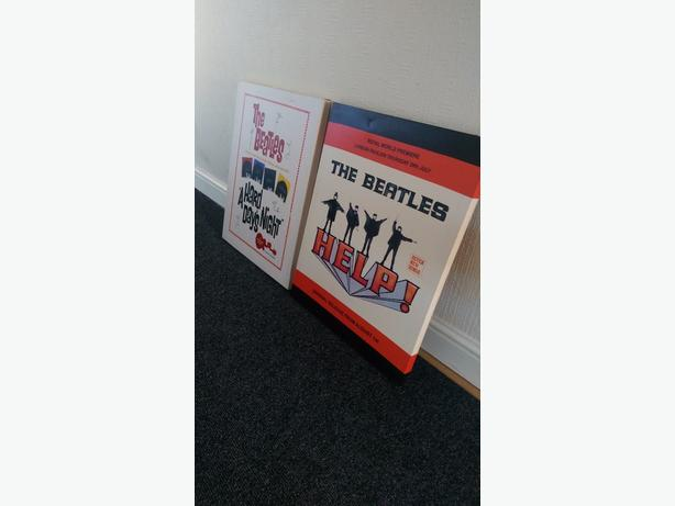 The Beatles canvas artwork