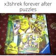 leapfrog circus and shrek forever after kids jigsaw puzzles