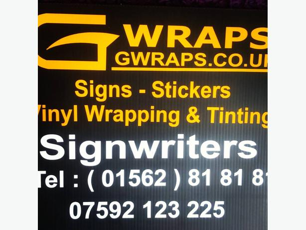 Vinyl applications part or full cars, vans, bikes, quads and more