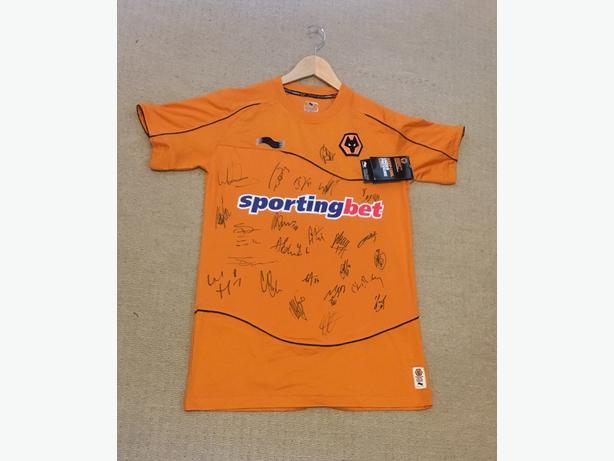 Wolverhampton Wanderers Premier League Shirt
