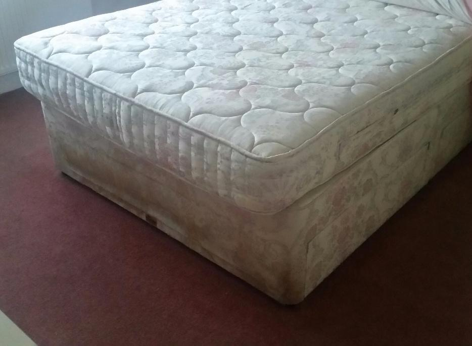 Double Divan Bed And Mattress With 4 Drawers Wolverhampton Dudley
