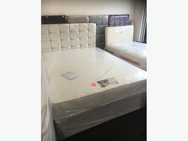 DOUBLE PLATINUM DIVAN BED