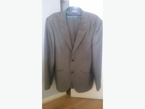 x2 George silver/grey  suit 13-14 years jacket and trousers