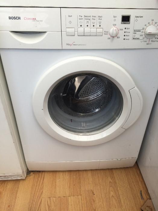 traded for a washing machine