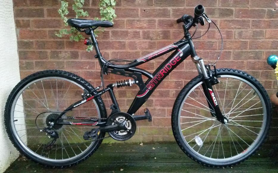 Mtn Ridge X Plosion Mountain Bike 26 34 Wheel 18 Speed Dual