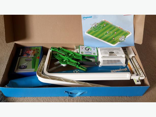 playmobil football pitch