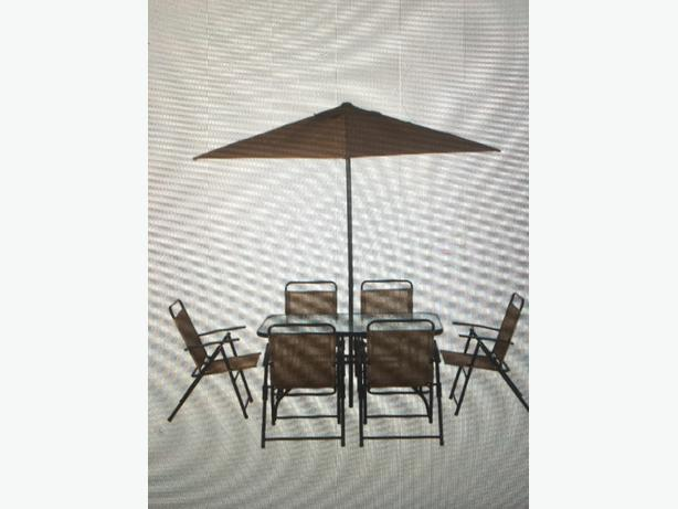 hiwaii garden set 8 piece copper