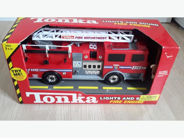 TONKA fire engine