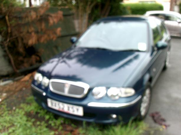rover 45 52 plate
